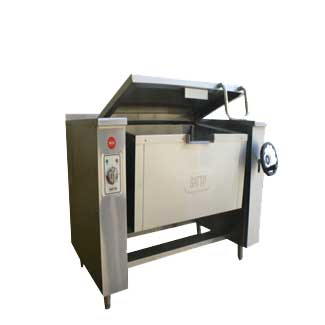 Tilt pan electric-Stainless steel-80L-TP2S
