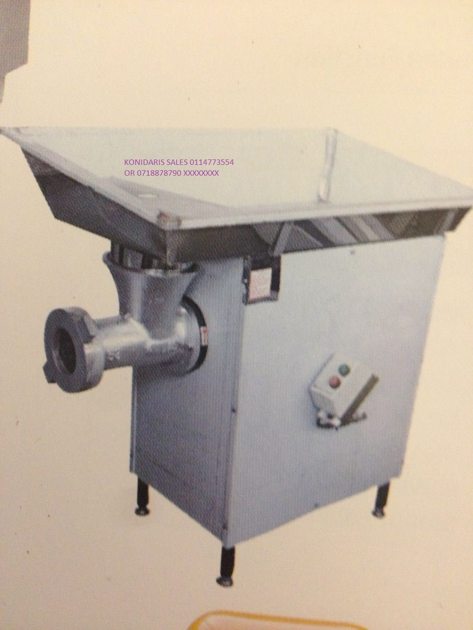 MINCER 52 R26500.00 EX VAT BRAND NEW WOW