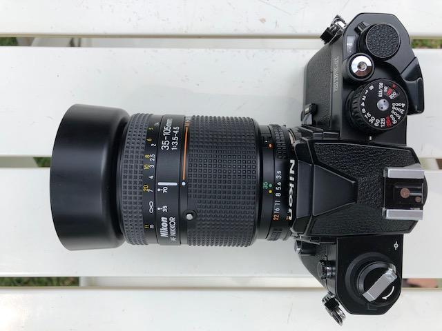 Nikon FM2 35 mm film camera