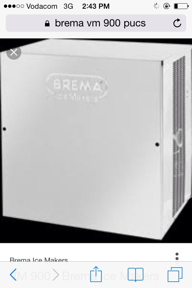 Brema Ice Machine MV900