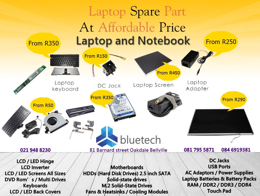 Notebook And Laptop Parts Bluetech Oakdale Bellville 021 948 8230 Sony Vaio Diagram