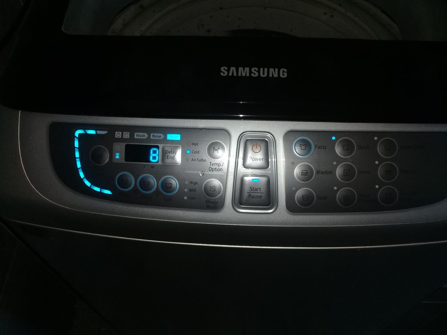 Samsung wasmasjien toplouder