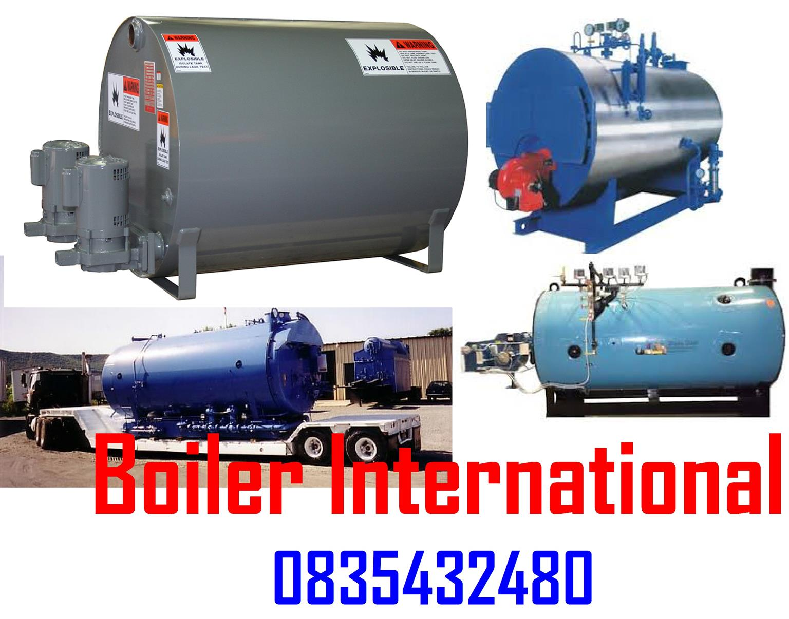 NEED A BOILER - Boilers made to your specifications