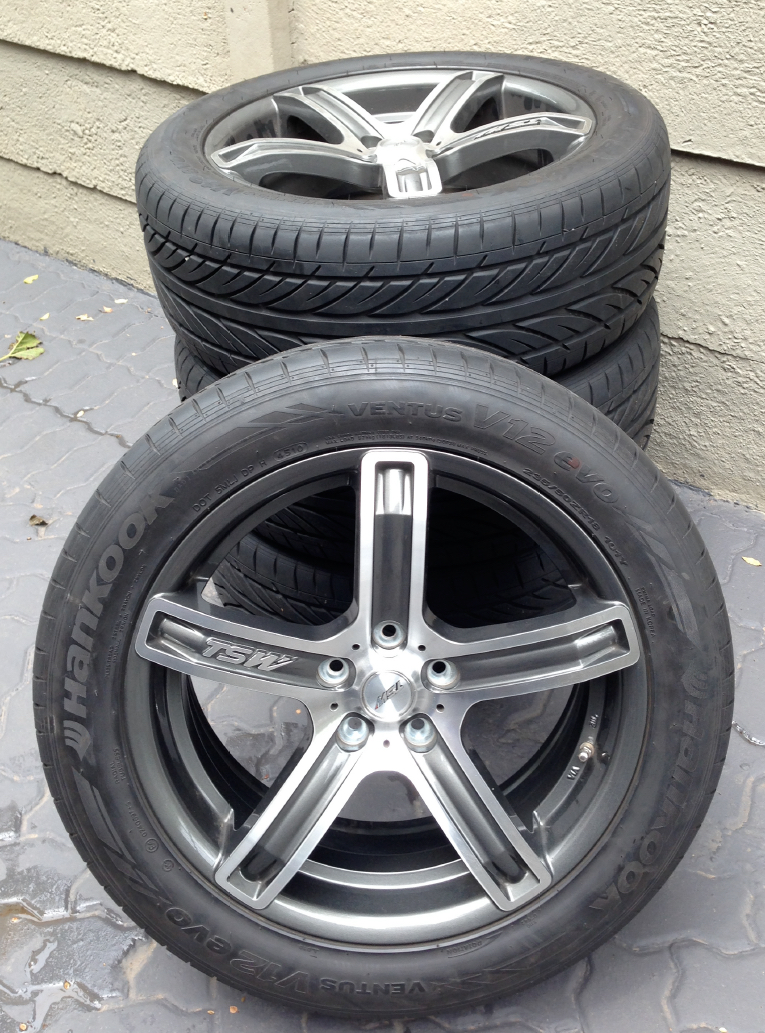 18inch Tyres and Rims