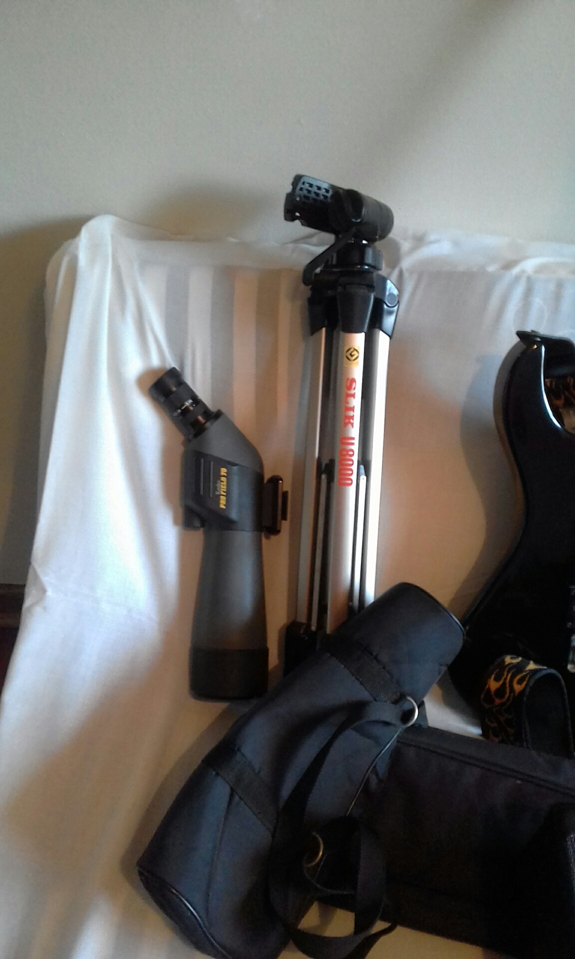 Kenko Pro Field spotting scope + Silk U8000 tripod