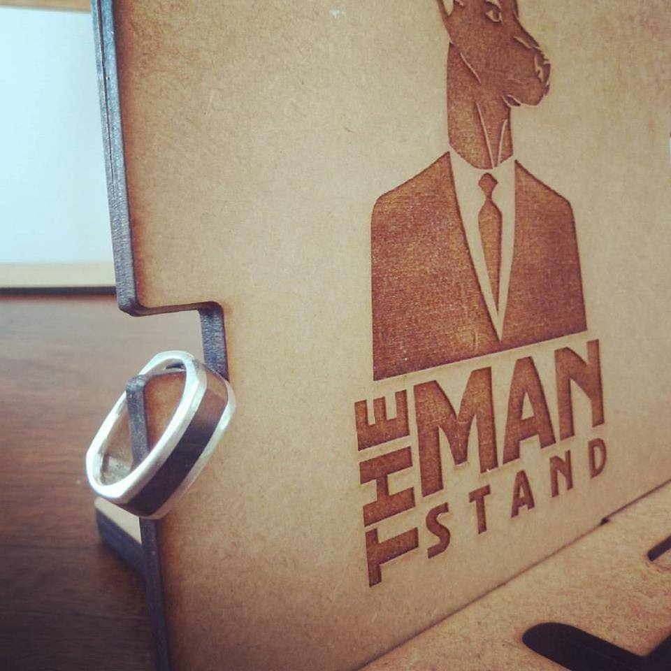 The Man Stand Accessory Organiser