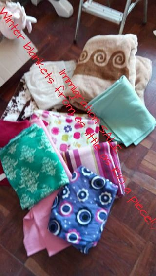 Winter blankets for sale