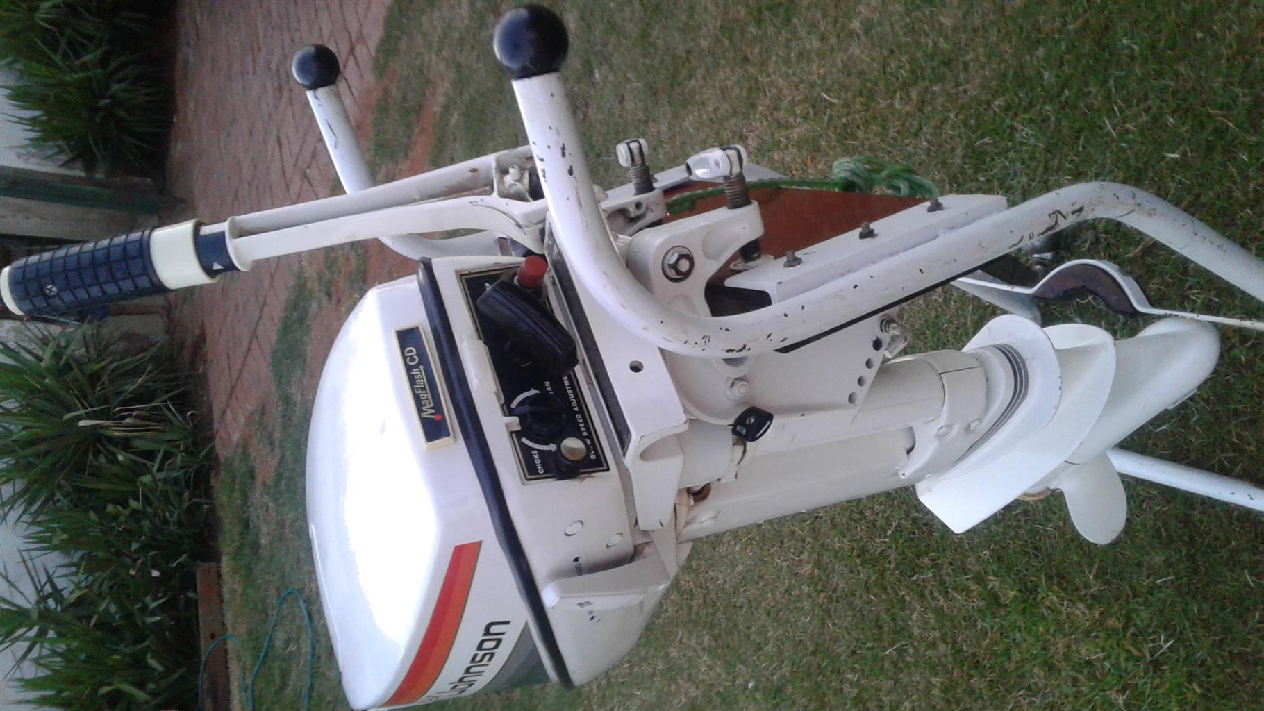 Johnson 15hp petrol motor