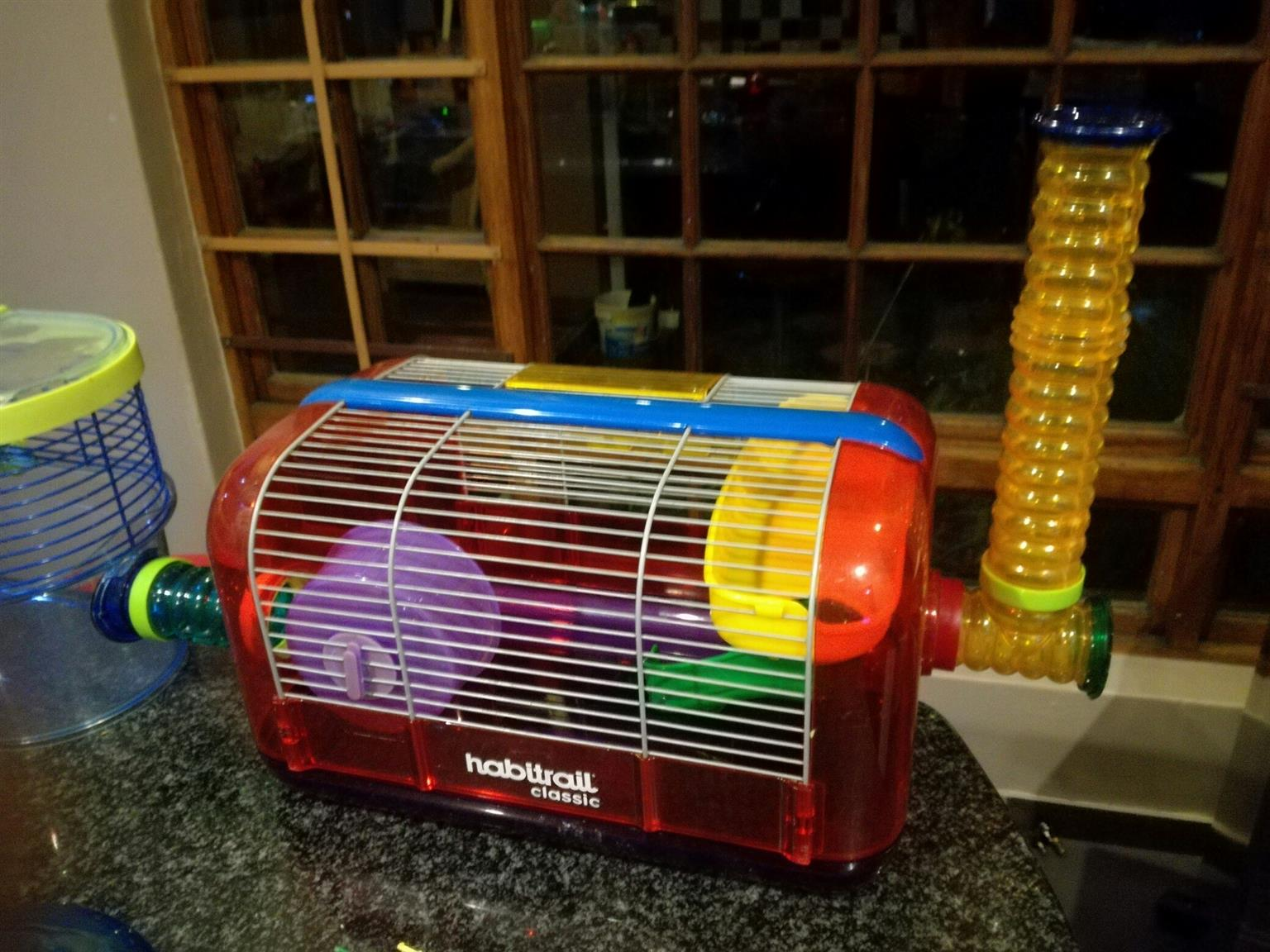 Hamster Cages.