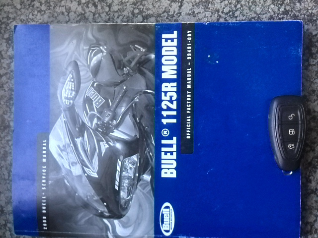 Buell 1125R Official Factory Service Manual