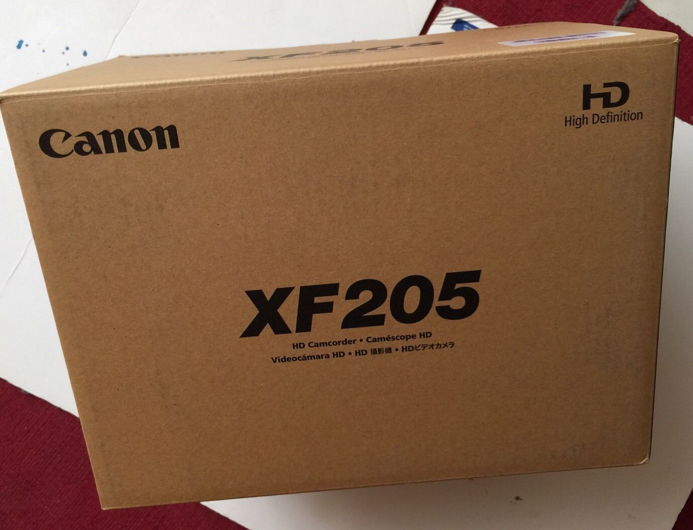Canon XF205 Camcorder