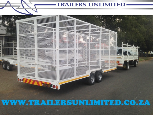 TRAILERS UNLIMITED 6000 X 2500 X 2400 RECYCLING TRAILERS.
