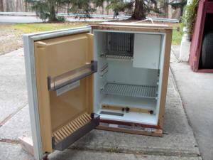 12v 220v gas carevane frige
